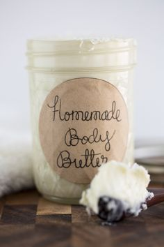 Homemade Body Butter Recipe