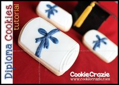 Graduation Diploma (Tutorial)  http://www.cookiecrazie.com/2012/05/graduation-diploma-tutorial.html#