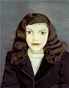 Girl in a Dark Jacket - Lucian Freud