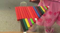 Introducing Teen Numbers with Cuisenaire Rods. This video is of me introducing teen numbers to my 4 year old. She already knew how to count ...