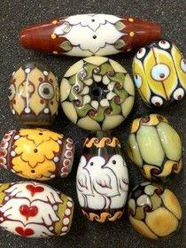 Caspary Lampwork Contemporary Art Glass Beads