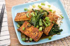 Black Pepper Crusted Tofu