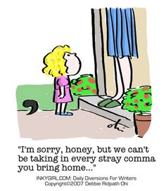 Funny English Punctuation Comics
