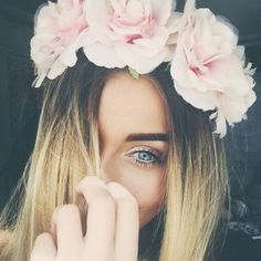 #pretty #flowercrown