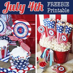 Amanda's Parties To Go: FREE July 4th printables!
