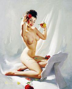 """Perfection"" by Gil Elvgren, 1948"