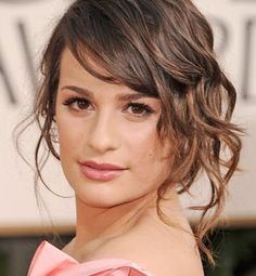 loose side chignon hairstyle