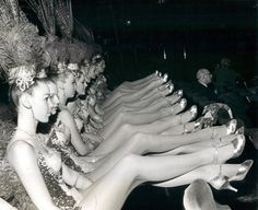 London showgirls, 1967