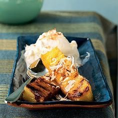 Grilled Pineapple Dessert from the Bright Nest Blog.