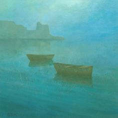 Stephen Mitchell - Blue Mist at Erbalunga, Corsica