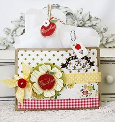 Embellished Treat Pocket by Melissa Phillips for Papertrey Ink (August 2012)