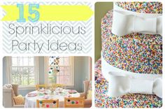 Sprinkle Party Ideas