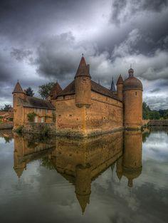La Clayette, Burgundy, France