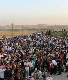 Islamist Rebels Force 20,000 Syrian Kurds to Flee to Iraq (201) Al-Qaida linked rebels, possibly encouraged by Turkey, have turned their fury on Syria's Kurdish population.