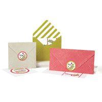 Classic Christmas Cards & Envelopes | November/December 2013 | Paper Crafts | Jennifer McGuire