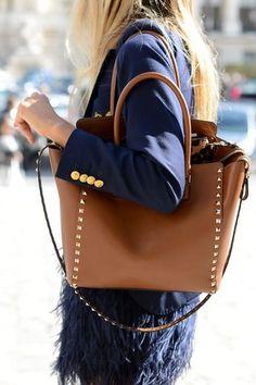 DIY | Studded Bag