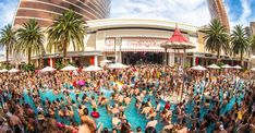 Labor Day Weekend Pool Parties at Las Vegas Celebrity HotSpots. So Many Choices : Encore Beach Club at Encore Hotel & Casino