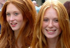 If you're walking with someone else who has red hair, everyone always assumes you're related. Or twins. 22 Signs You're A Natural Redhead