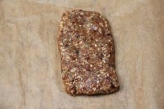 Dehydrator Recipe: Raw granola bars