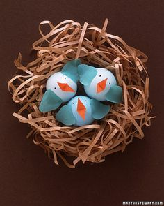 How to decorate Easter eggs like a Baby Bird