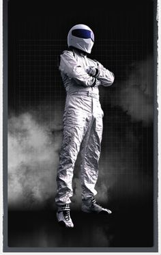 All we know is, he's called The Stig!