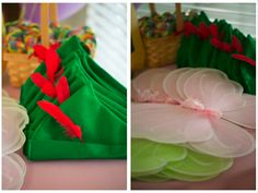 Neverland Birthday Party: Hats & Wings