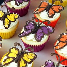 Butterfly Cupcakes#Repin By:Pinterest++ for iPad#