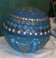 Mosaic'ed bowling ball