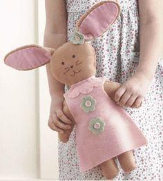 toy park, felt bunny, felt bunni, felt toys, kid