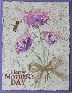 Angie Linton wildflowers card