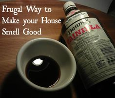 Frugal Way to Make Your House Smell Good http://thelifeofthebucks.com/2013/08/12/frugal-way-to-make-your-house-smell-good/
