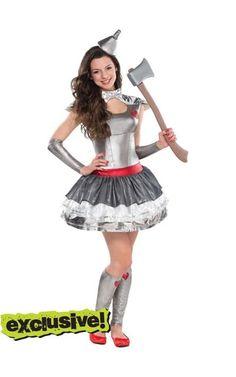 Tin man teen girl costume