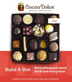 Customize the perfect box of chocolates!