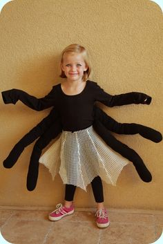Cute web skirt: no big dill: A Scrounged together Halloween
