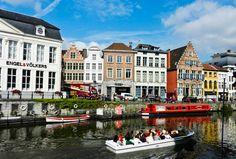 Lunch in Ghent Belgium