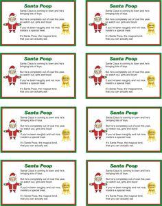 Cute Poem For Santa Cookies Kid Stuff Pinterest