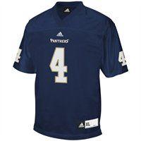 adidas FIU Panthers #4 Replica Football Jersey - Navy Blue
