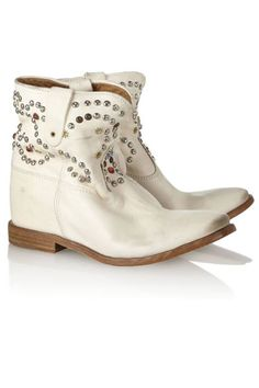 Isabel Marant wedge boots...