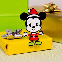Mickey Mouse Christmas Cutie   Printables   Spoonful