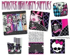 monster high birthday, birthday parties, high parti, monsterhigh, monsters, birthday party themes, parti idea, monster high party, kid