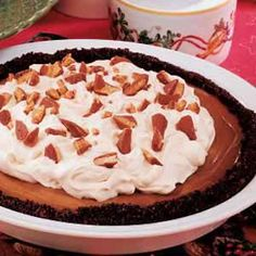 Coffee Cream Pie Recipe from Taste of Home