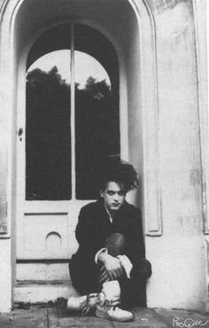Robert Smith of The Cure ...