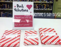 Book Valentines (surprise YA book inside)