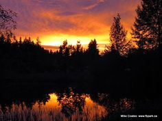bc canada, sunsets, parks, lakes, fall sunset, boundari lake