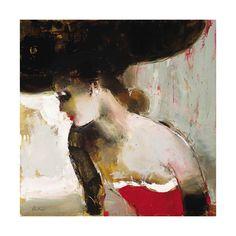 elena ilku woman in red.