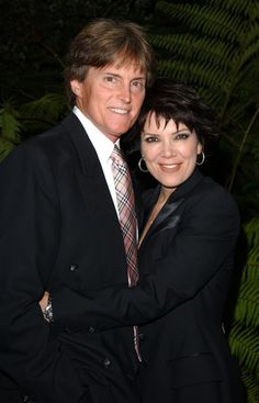 Bruce and Kris Jenner.