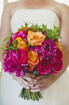 Love this ultra bright bouquet!