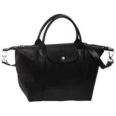 Handbag - Le Pliage Cuir - Longchamp - Red - Longchamp United-States