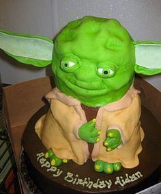 yoda(tasty i am, hmmm)cake