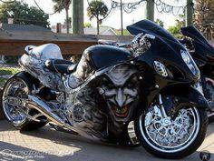 Fantastical Joker Bike